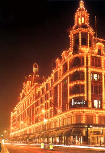 photograph of Harrods, Knightsbridge